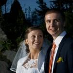 Zdjęcie ślubne Katarzyny i Adama, uczestników akcji Ślub z sercem w dniu 26.04.2014