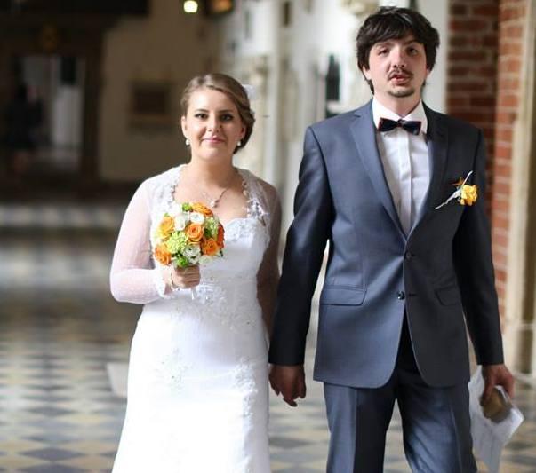 Zdjęcie ślubne Darii i Macieja, uczestników akcji Ślub z sercem w dniu 24.05.2014