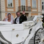 Zdjęcie ślubne Joanny i Przemysława, uczestników akcji Ślub z sercem w dniu 31.05.2014
