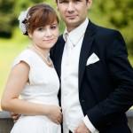 Zdjęcie ślubne Kasi i Łukasza, uczestników akcji Ślub z sercem w dniu 26.07.2014