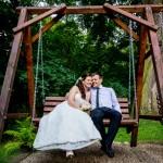 Zdjęcie ślubne Karoliny i Dariusza, uczestników akcji Ślub z sercem w dniu 2.08.2014