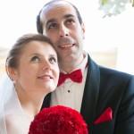 Zdjęcie ślubne Moniki i Sergio, uczestników akcji Ślub z sercem w dniu 9.08.2014